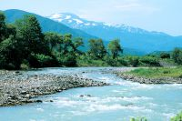 Tachiyazawa River, one of the 100 Exquisite and Well-Conserved Waters of the Heisei period.